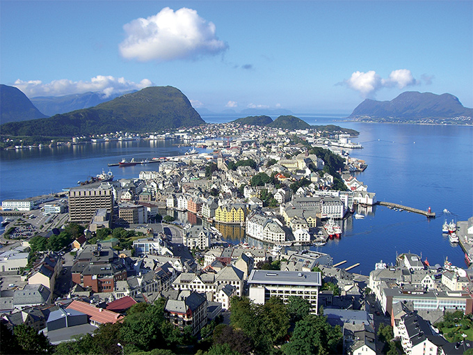 Image europe norvege alesund