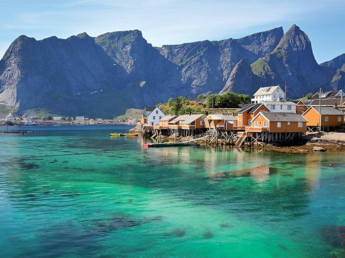 Image europe norvege les iles lofoten
