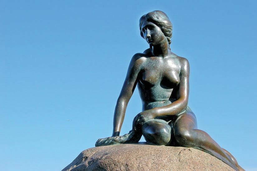 image Copenhague La petite sirenne  fo
