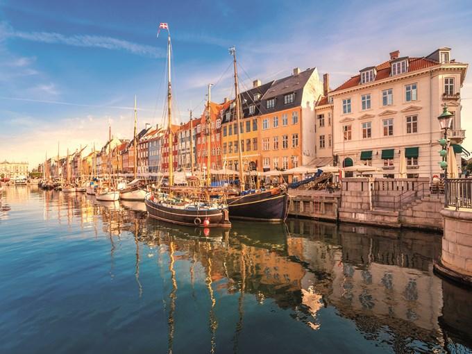 image Copenhague quais mer