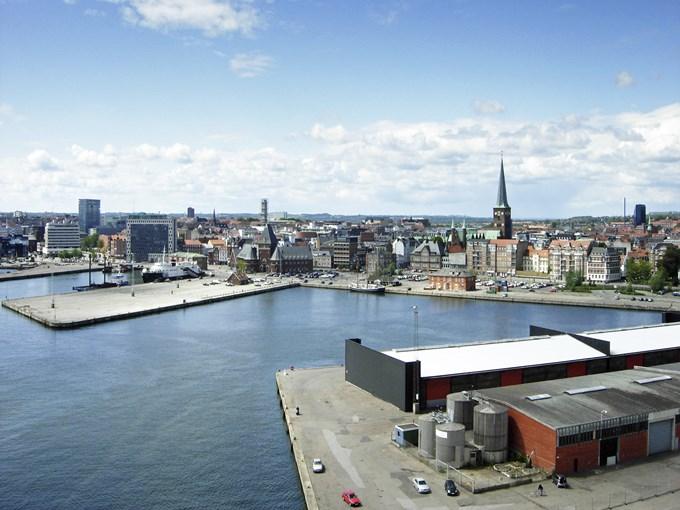image Danemark arhus vue ensemble