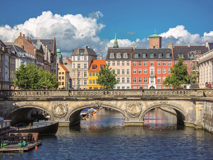 image Danemark copenhague maisons pont