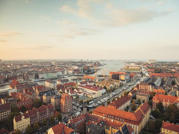 image Danemark copenhague vue ensemble