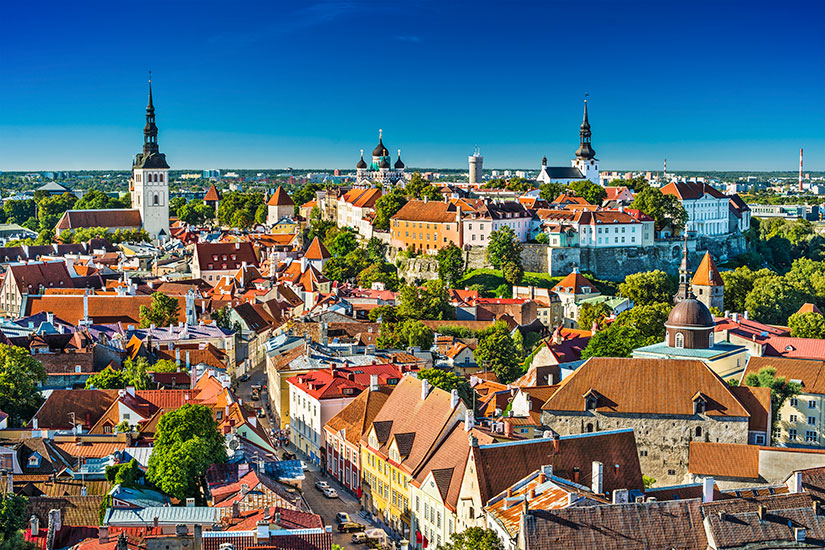 image Estonie Tallinn Vieille ville  it