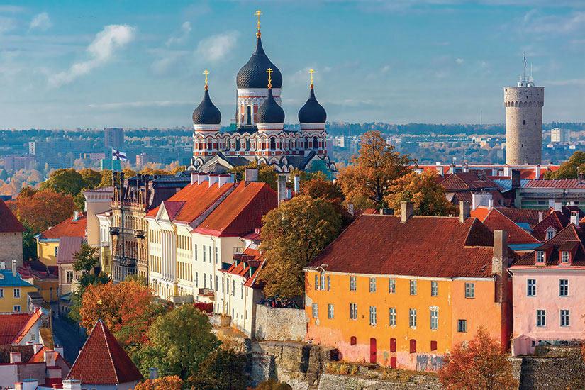 image Estonie Tallinn vue aerienne  it