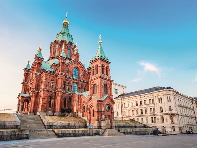 image Finlande helsinki cathedrale