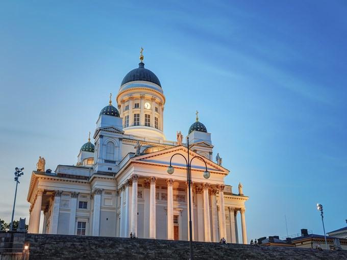 image Finlande helsinki cathedrale lutherienne