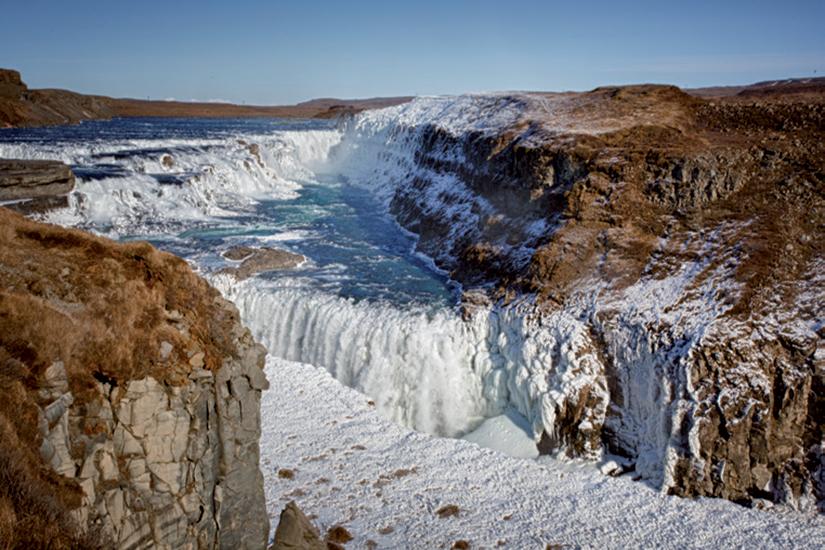 image Islande Gullfoss