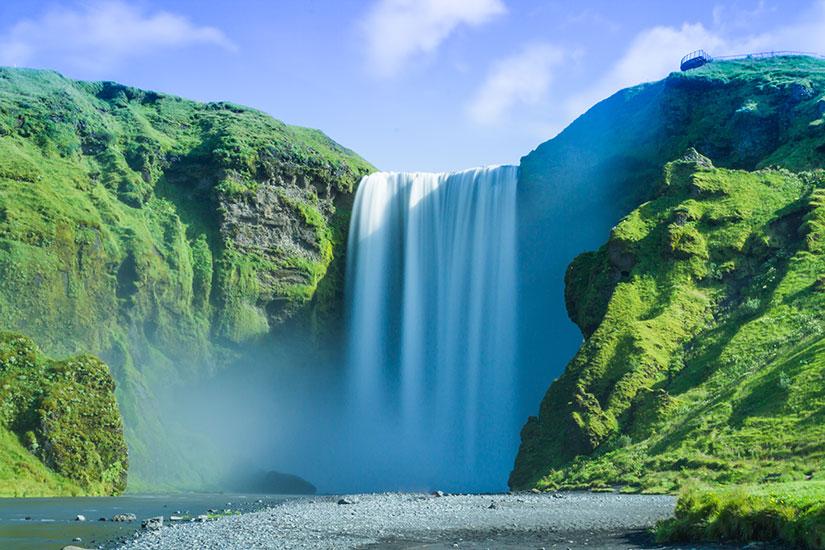 image Islande Skogafoss  it