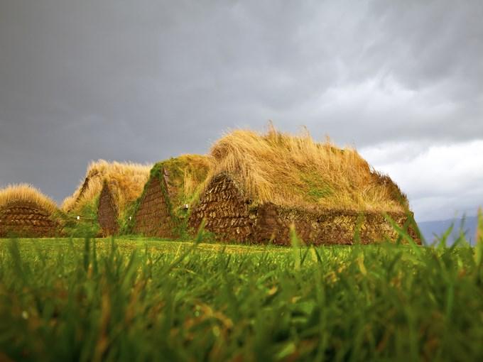 image Islande glaumbaer maison