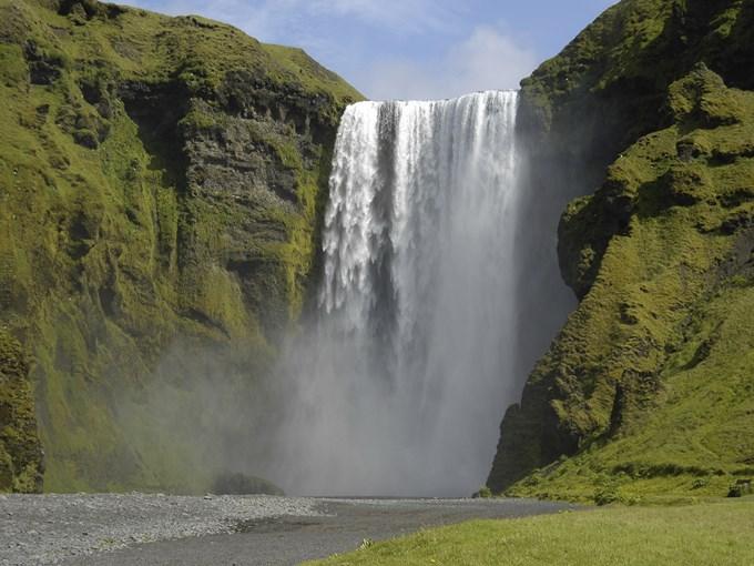 image Islande skogafoss