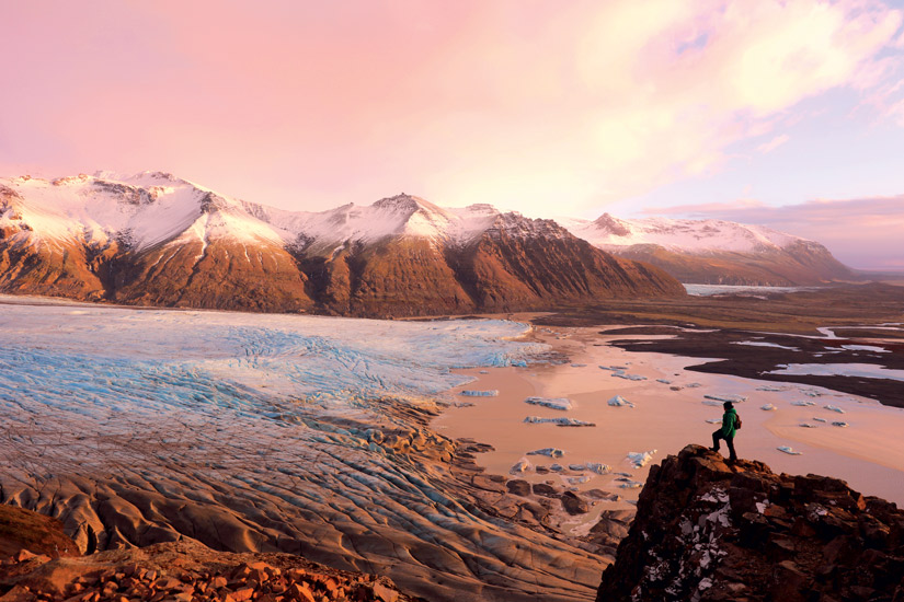 image Islande vatnajokull skaftafell hiver neige montagne glacier 29 it_499291482