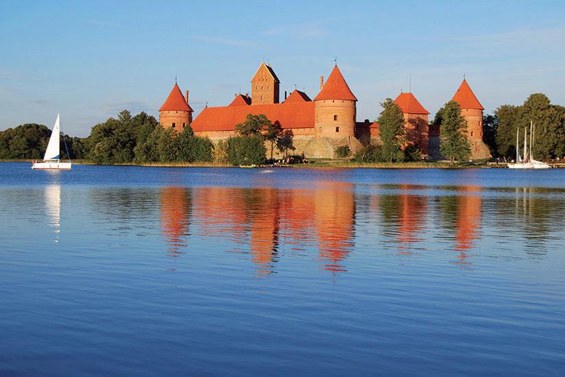 image Lituanie Vilnius Chateau Trakai  fo