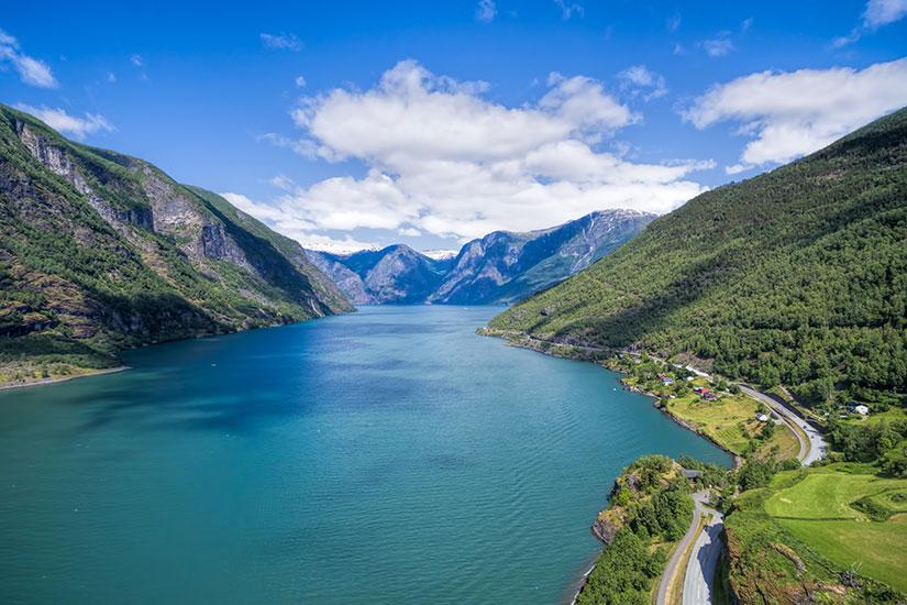image Norvege Aurlandsfjorden paysage  it