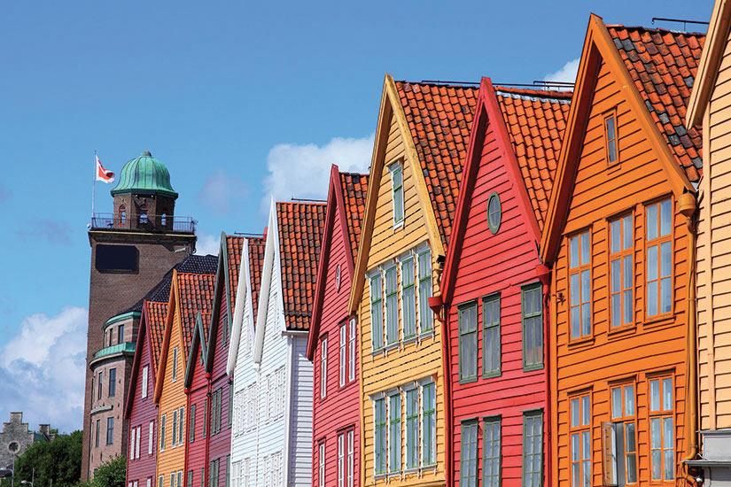 image Norvege Bergen celebre ville dans le comite de Hordaland  it