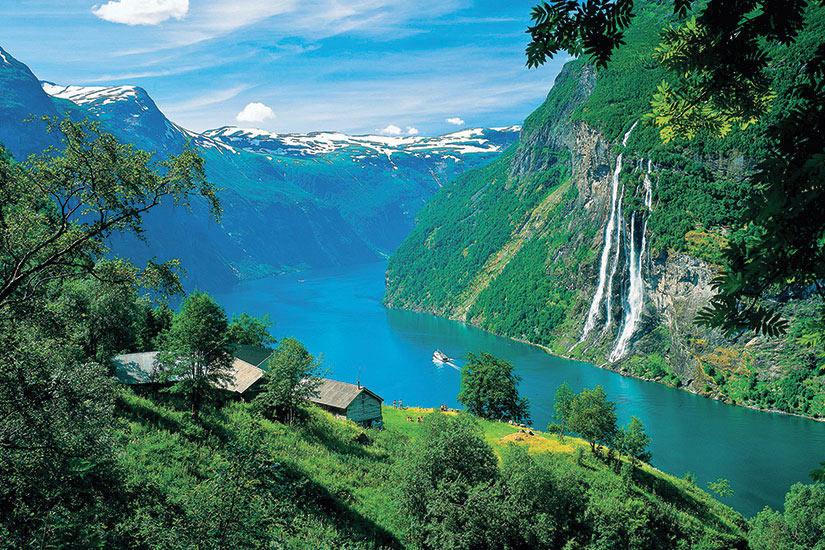 image Norvege Geiranger Panorama
