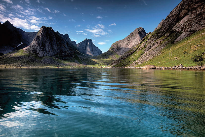image Norvege Lofoten Montagnes  it