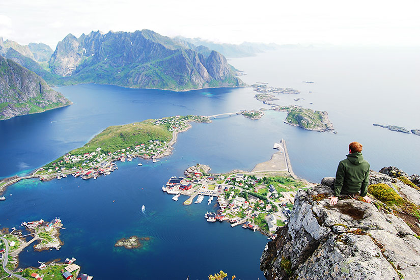 image Norvege Lofoten Nature  it