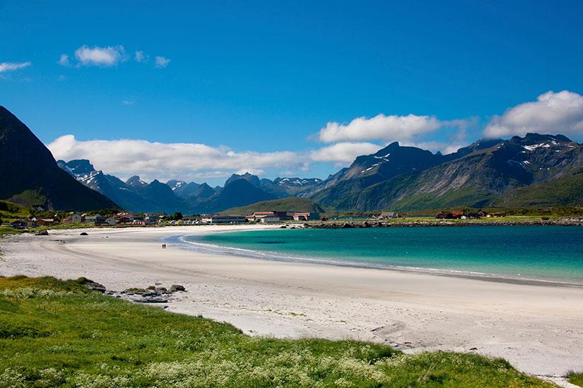 image Norvege Lofoten Ramberg littoral  it