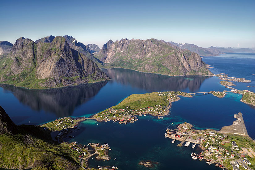 image Norvege Lofoten Reine  it