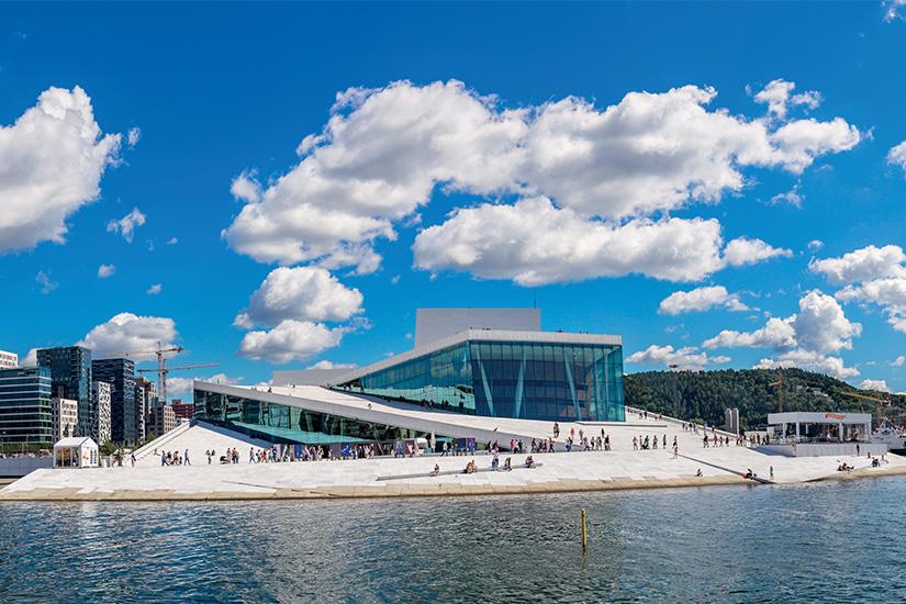 image Norvege Oslo opera as_74184354