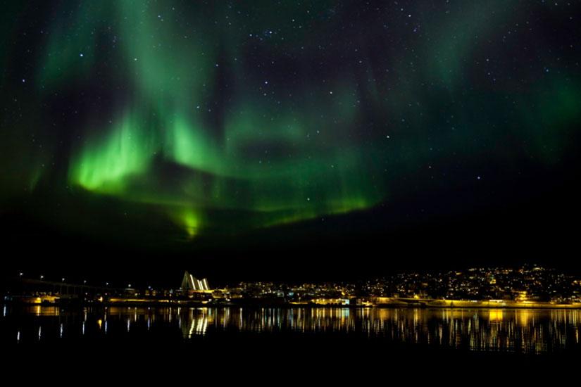 image Norvege Tromso Aurore boreale  it