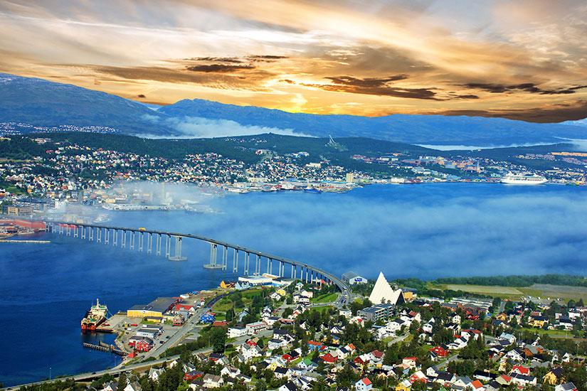 image Norvege Tromso panorama  fo