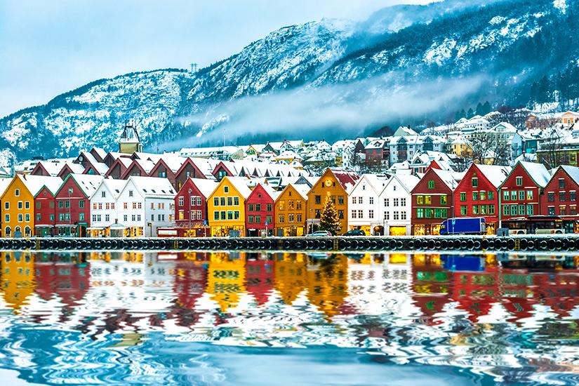 image Norvege bergen  it