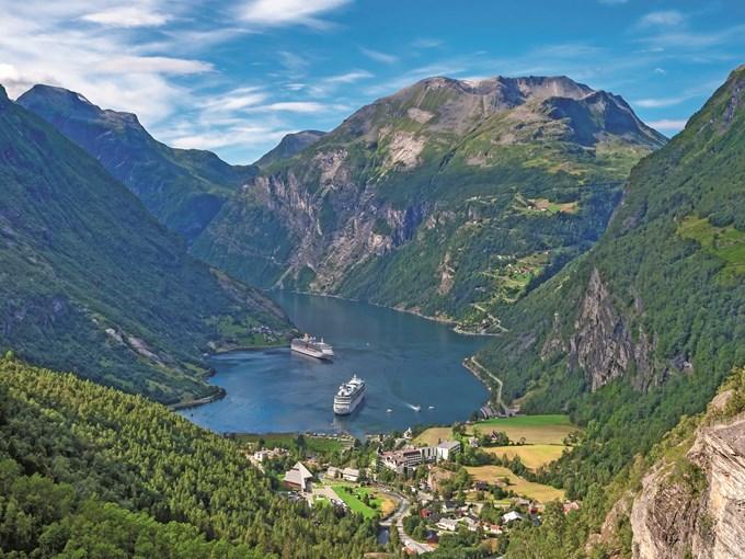 image Norvege geirangerfjord