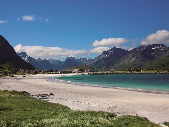 image Norvege iles lofoten plage ramberg
