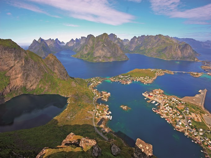 image Norvege lofoten aerienne