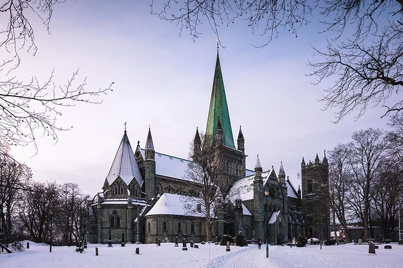 image Norvege nidaros cathedrale  it
