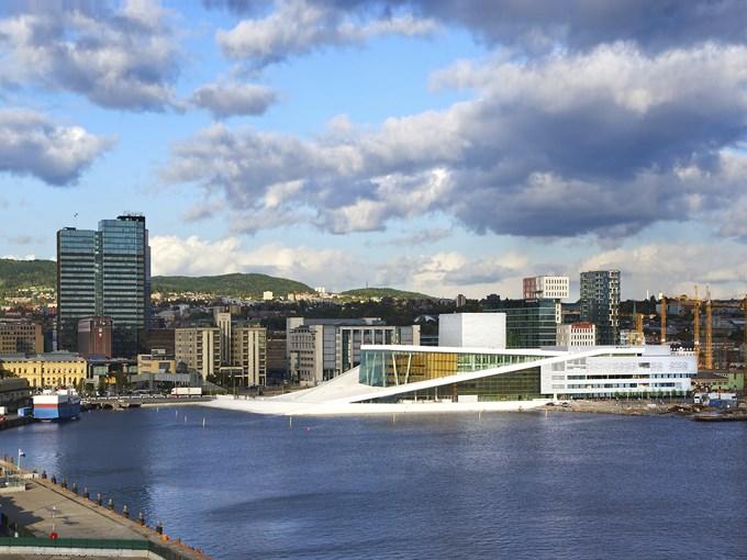 image Norvege oslo opera