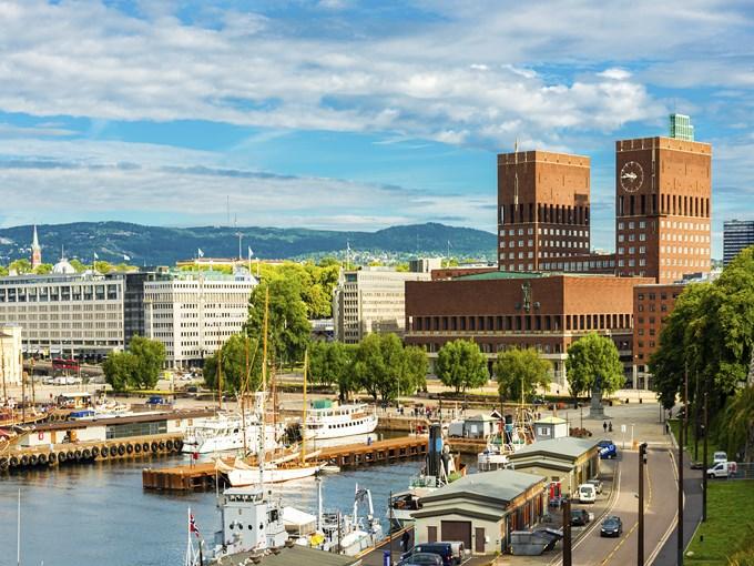 image Norvege oslo port