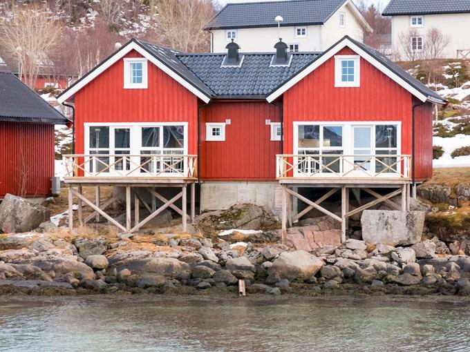 image Norvege stokmarknes maison