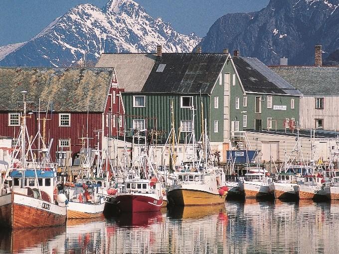 image Norvege tromso bateaux