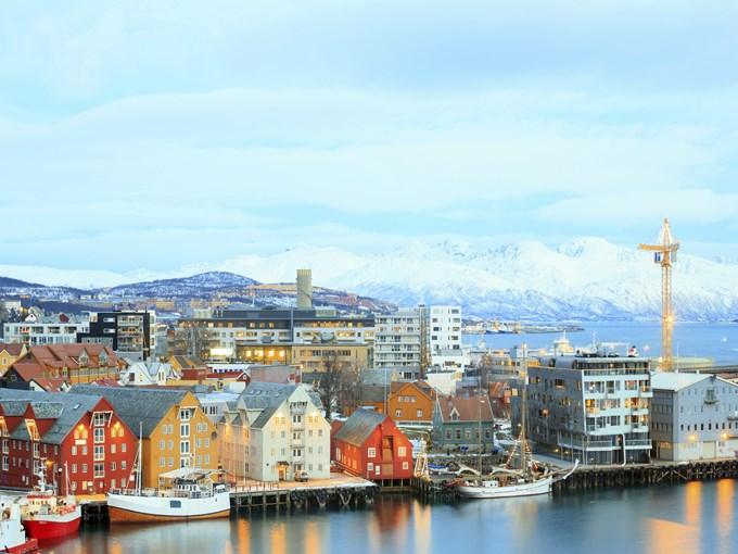 image Norvege tromso rive