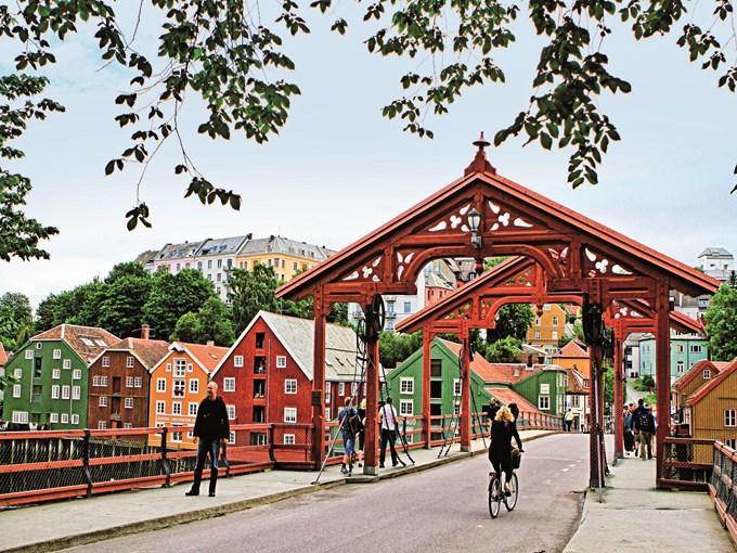 image Norvege trondheim