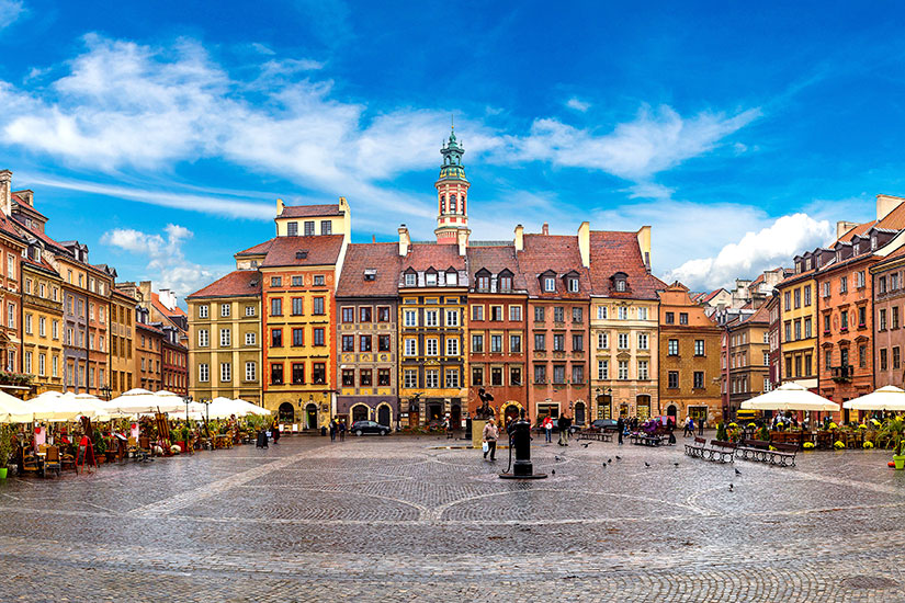 image Pologne Varsovie Vieille ville  fo