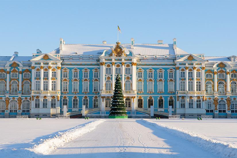 image Russie Saint Petersbourg Palais Catherine Noel 99 fo_158162797