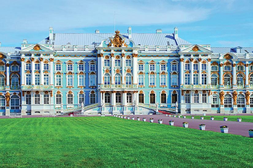 image Russie Saint Petersbourg Palais de la grande Catherine  it
