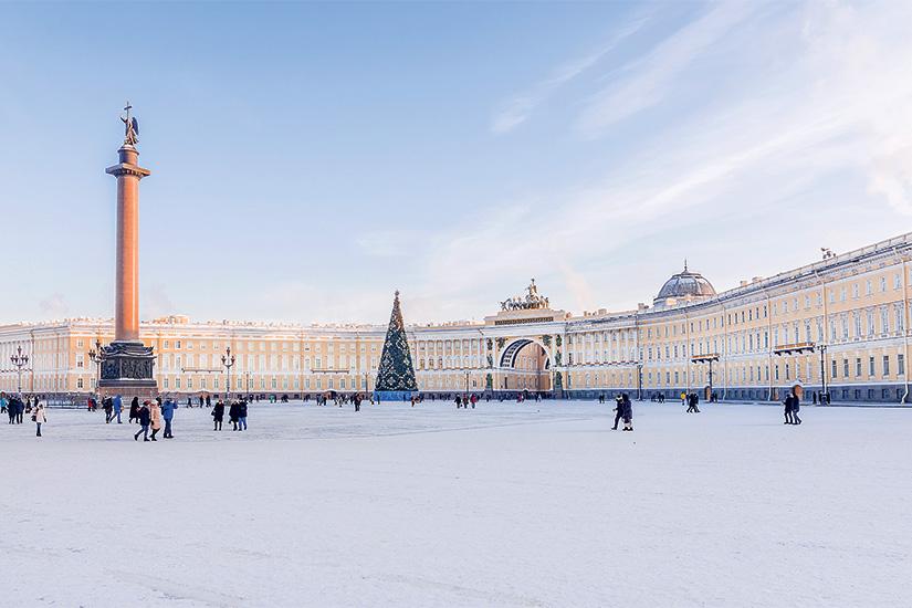 image Russie Saint Petersbourg Place du Palais hiver 18 as_125444064