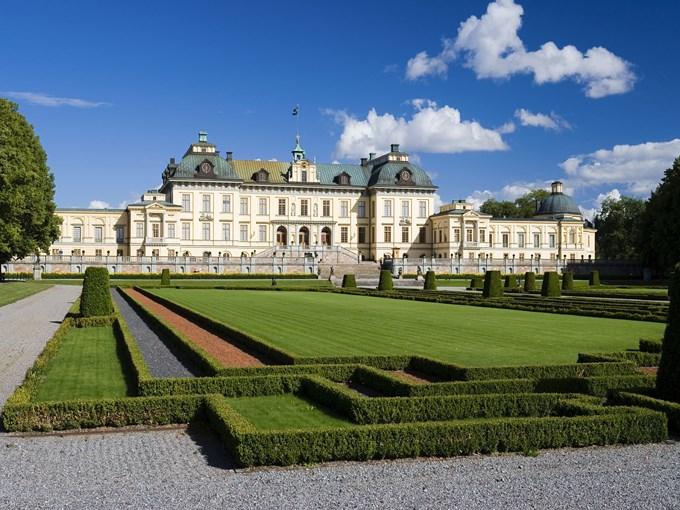 image Suede Drottningholm jardin
