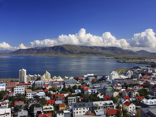 image islande Reykjavik vue ensemble
