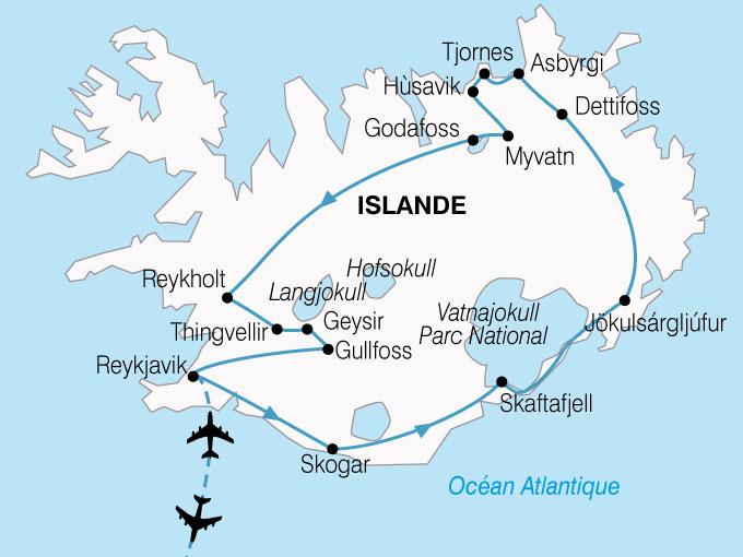 Agence De Voyage Pour Circuit En Islande