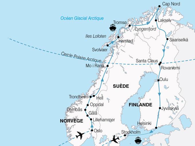 circuit le grand tour de scandinavie finlande norvege. Black Bedroom Furniture Sets. Home Design Ideas