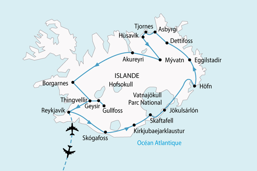 carte Islande LEssentiel 875786