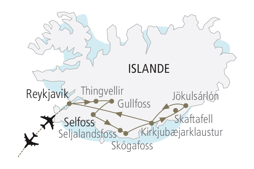 carte Islande Saga Islandaises et Aurores Boreales NDK18 19_259 770045