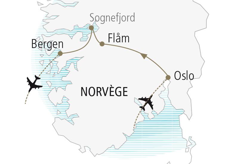 carte Norvege Escapade Norvegienne Nordiska 19 20_307 254188