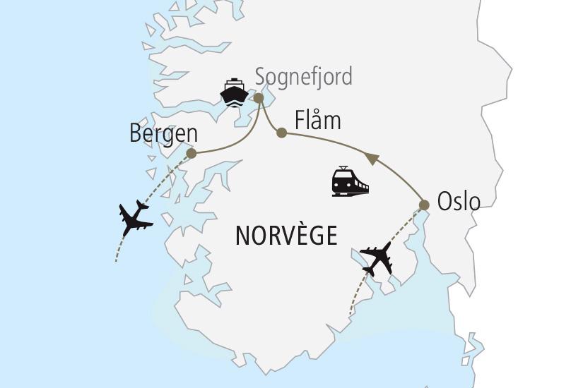 carte Norvege Escapade Norvegienne Nordiska 19_285 575618